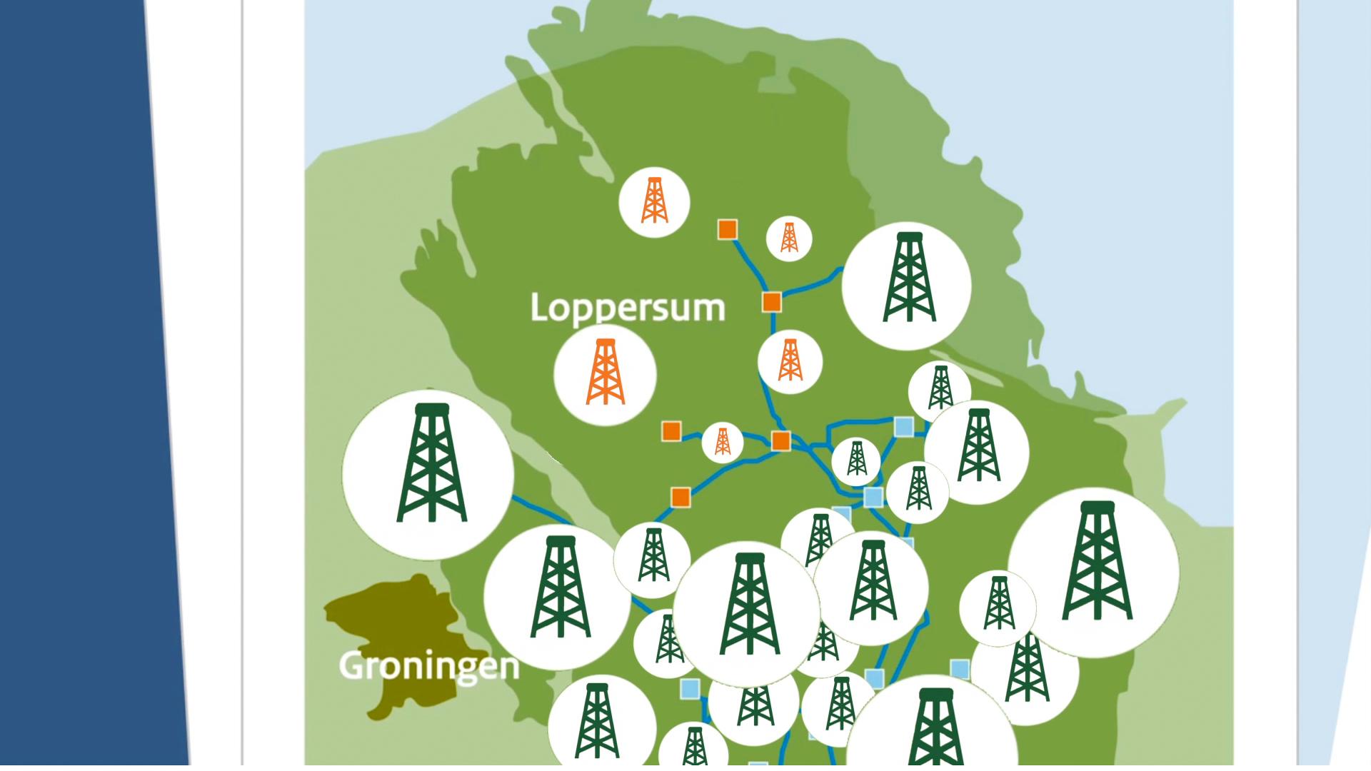 Animatie over gaswinning in Groningen