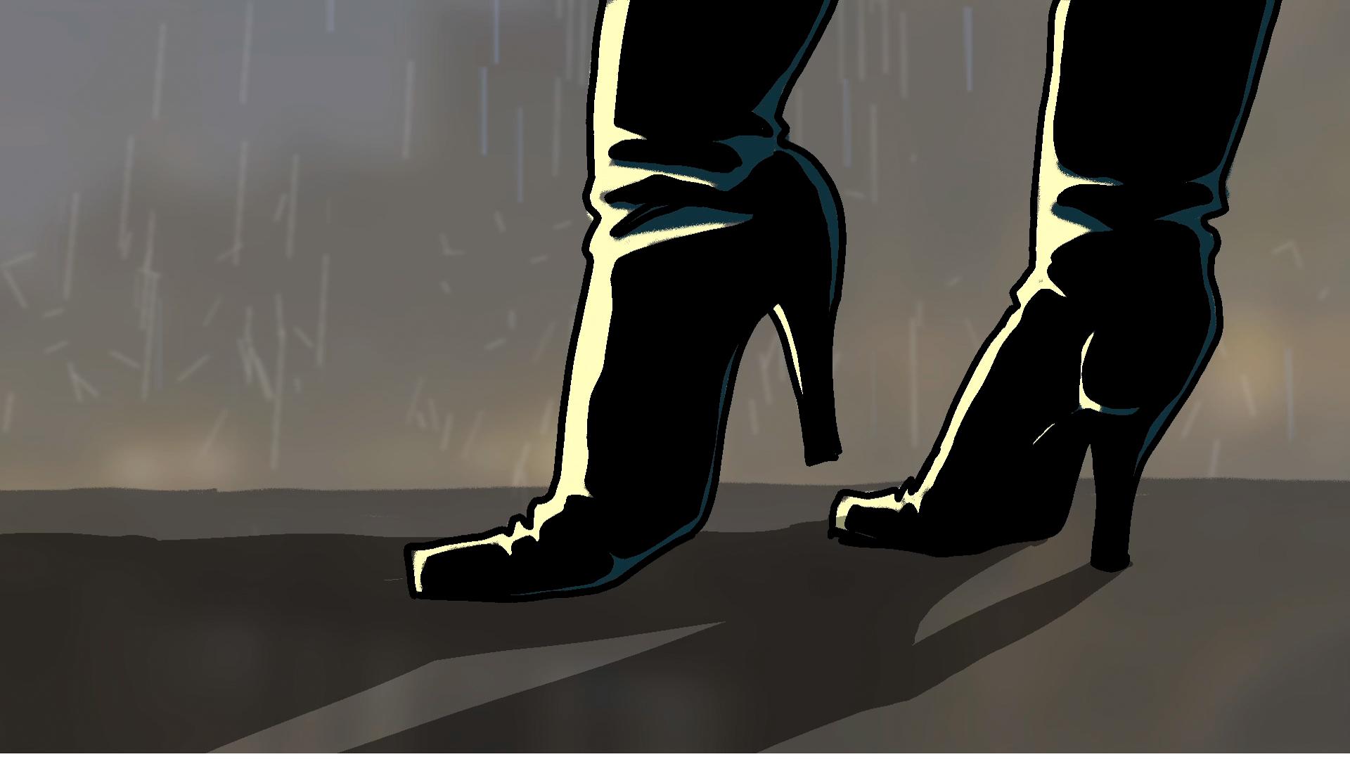 animatie voor misdaadprogramma Steinfort & van Wely